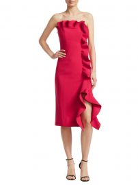 Selma Ruffle Dress at Saks Fifth Avenue