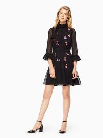 Sequin Cherries Shirtdress by Kate Spade at Kate Spade