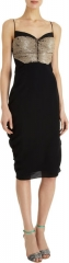 Sequin Front Spaghetti Strap Dress by Narciso Rodriguez at Barneys
