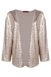 Sequin Jacket at Boohoo