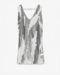 Sequin Mini Dress by Robert Rodriguez at Intermix