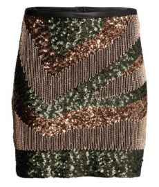 Sequined Skirt at H&M