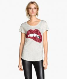 Sequined Top at H&M