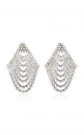 Seraphina Cascade Earrings by Jennifer Behr at Moda Operandi