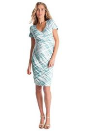 Seraphine Abella Ruched Faux Wrap Maternity Nursing Dress at Amazon
