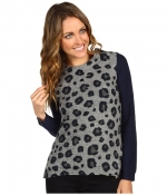 Serenas leopard sweater by Rebecca Taylor at Zappos