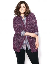 Seven7 Long Sleeve Knit Cardigan at Penningtons