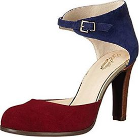 Seychelles Women s Hopeful Heel in Oxblood Navy at Amazon