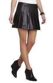 Shane Pleated Skirt at Bcbg