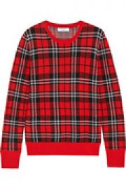 Shane plaid wool sweater at The Outnet