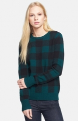 Shane sweater in pine by Equipment at Nordstrom