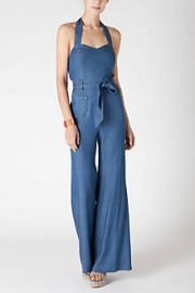Sharlene Halter Jumpsuit at Anthropologie