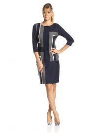 Sheath dress by Gabby Skye at Amazon