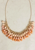 Sheer Bliss Teardrop Necklace at Ruche