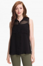 Sheer black shirt like Pennys at Nordstrom