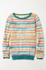 Sheerstripe pullover at Anthropologie