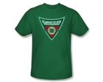 Sheldons green arrow shirt at Amazon