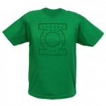 Sheldon's green lantern shirt at Comic Center