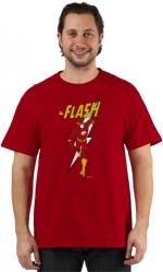 Sheldon's red flash shirt at 80s Tees