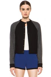 Shelley Baseball Jacket by Rag and Bone at Forward by Elyse Walker