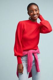 Sheridan Ribbed Sweater at Anthropologie