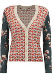 Shia floral-print merino wool cardigan at The Outnet