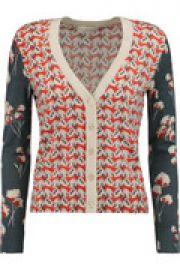 Shia floral-print merino wool cardigan at The Outnet