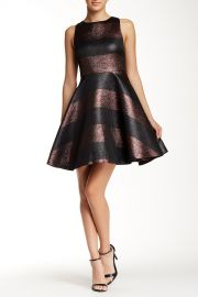Shimmer Cutout Back Dress at Nordstrom Rack