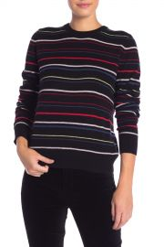 Shirley Stripe Cashmere Sweater at Nordstrom Rack