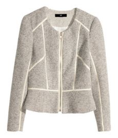 Short Jacket in Natural White at H&M