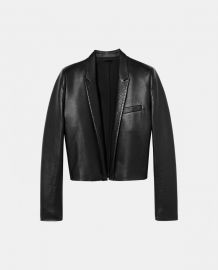 Short Leather Jacket at The Kooples