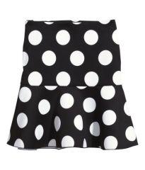 Short Scuba Skirt at H&M