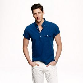 Short Sleeve Popover Shirt at J. Crew