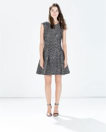 Short sleeve dress at Zara