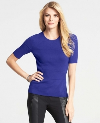Short sleeve sweater at Ann Taylor