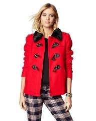 Short swing coat at Juicy Couture