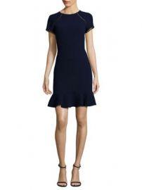 Shoshanna - Ruffle Hem Sheath Dress at Saks Fifth Avenue