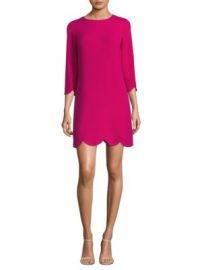 Shoshanna - Scalloped Hem Dress at Saks Fifth Avenue