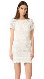 Shoshanna Geo Floral Lace Dress at Shopbop