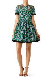 Shoshanna Green Daisy Dress at Rent The Runway