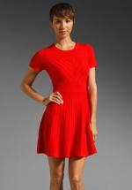 Shoshanna Margot dress on New Girl at Revolve