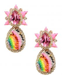 Shourouk Galaxy Earrings at Yoox
