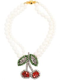 Shourouk and39cherryand39 Necklace - at Farfetch