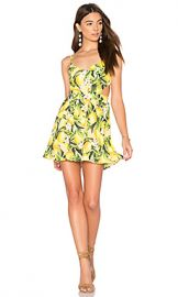 Show Me Your Mumu Piper Dress in Citrus Stretch from Revolve com at Revolve
