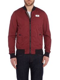 Showerproof Full Zip Bomber Jacket by G Star Raw at House of Fraser
