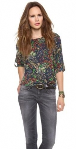Sid top by Alice and Olivia at Shopbop