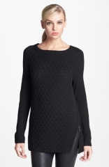 Side Zip sweater by Trouve at Nordstrom