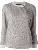 Side zip sweatshirt by Theory at Farfetch