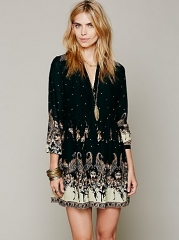 Sierra Valley Shirtdress at Free People