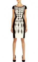 Signature Jersey Dress at Karen Millen